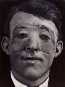Pele#2, oil on canvas, 30x40cm, 2016