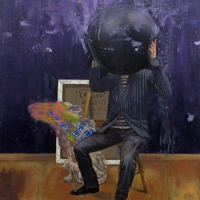 Castigo, 2017. Oil on canvas, 60x80 cm.